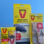 Victor easy set mouse traps, Extermination Falcon pest control products